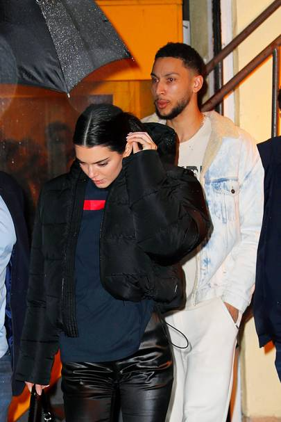 Kendall Jenner, makes another adorable appearance, with boo Ben Simmons in NYC