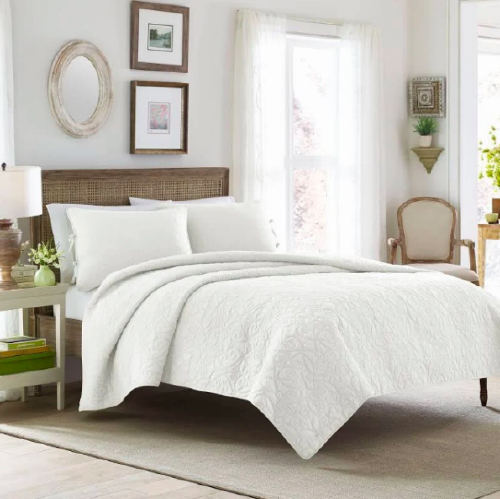 Felicity Reversible Quilt by Laura Ashley (Photo: Wayfair)