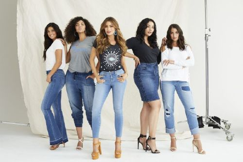 Sexy and cute, Youll find some seriously flattering styles, in Sofia Vergaras $30 denim line