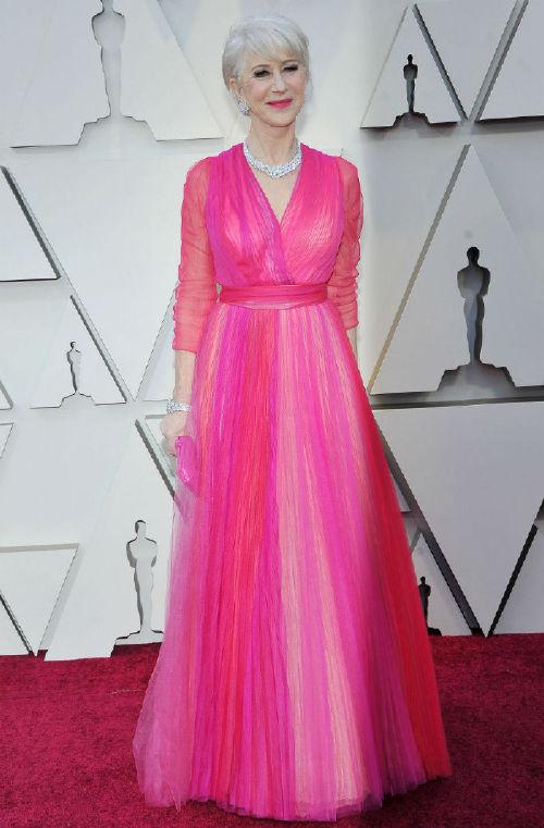 Helen Mirren celebrities at the 2019 oscars