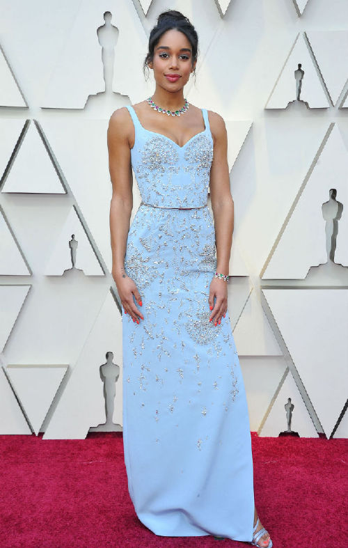 Laura Harrier celebrities at the 2019 oscars