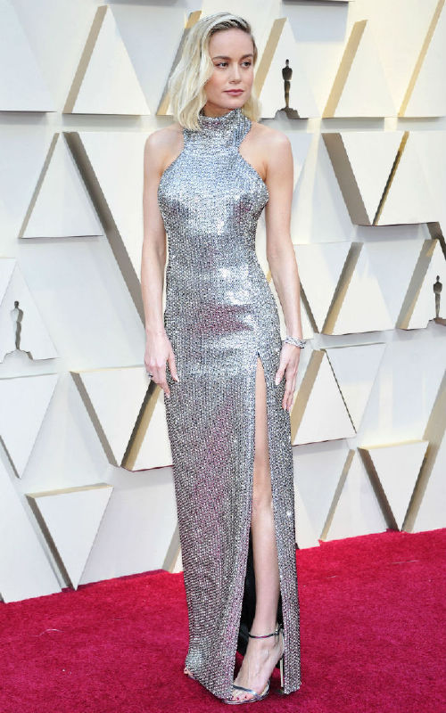 Brie Larson celebrities at the 2019 oscars