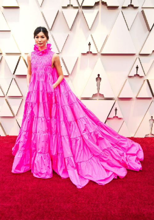 Gemma Chan celebrities at the 2019 oscars