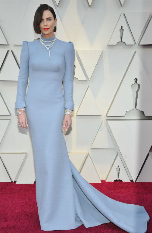 Charlize Theron celebrities at the 2019 oscars