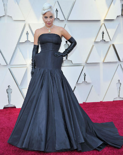 Lady Gaga celebrities at the 2019 oscars