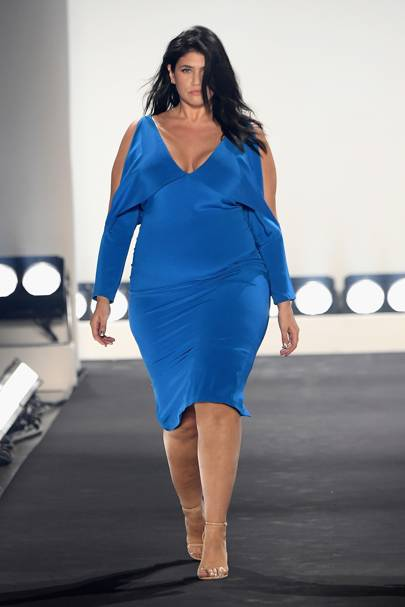 This New York Fashion Week show, only had models over size 14, and we're so here for it