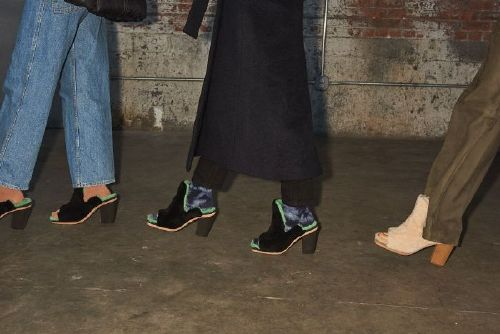 Uggs hit the runway, at one of New York Fashion Week buzziest shows