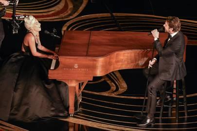 Lady Gaga Bradley, Cooper Oscars performance,  is talking about feel like, a third wheel