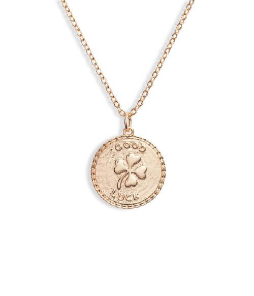 Ten79LA Good Luck Disc Charm Necklace (Photo: Nordstrom)