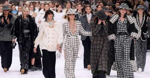 Tears and tributes in Paris as Chanel marks the late Karl Lagerfeld's last show with exquisite winter wonderland