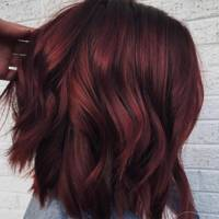 Mulled wine hair
