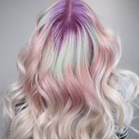 Opal hair is the colour hue we'll all be rocking at festivals this summer