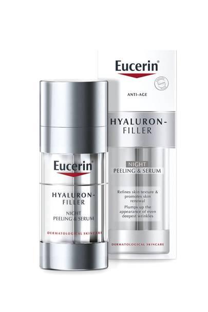 [b]Eucerin Hyaluron Filler Night Peeling & Serum, £38