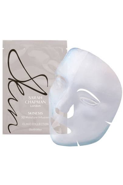 3D Moisture Infusion masks, £43 for 4, Skinesis by Sarah Chapman
