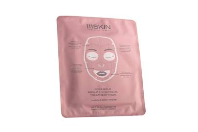 Rose Gold Brightening Facial Treatment Mask, £85 (for 5 pack), 111SKIN