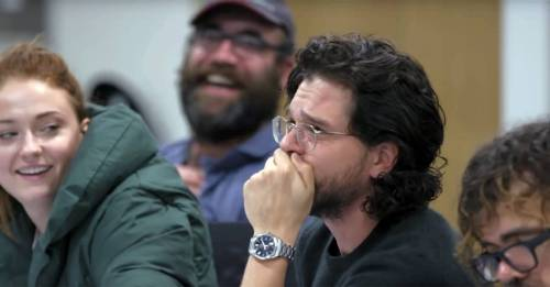 This trailer of the Game of Thrones cast watching their new documentary will give you goosebumps