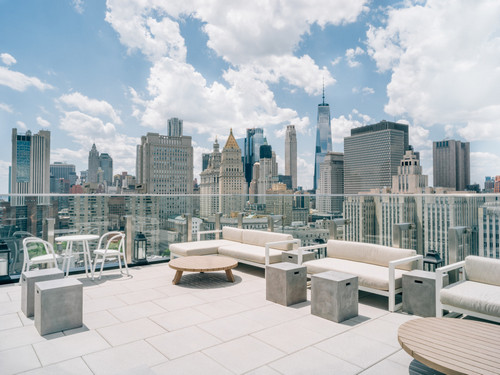 The Crown Rooftop in New York City