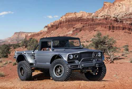 The Jeep Five-Quarter concept.