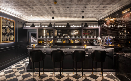 The Hendrick's bar.