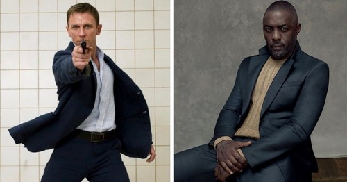 Daniel Craig; Idris Elba, often mentioned as a viable Bond