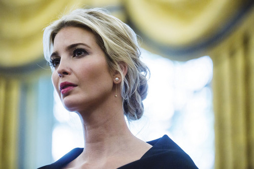 Ivanka Trump is a true entrepreneur. (Photo: Zach Gibson/Bloomberg via Getty Images)