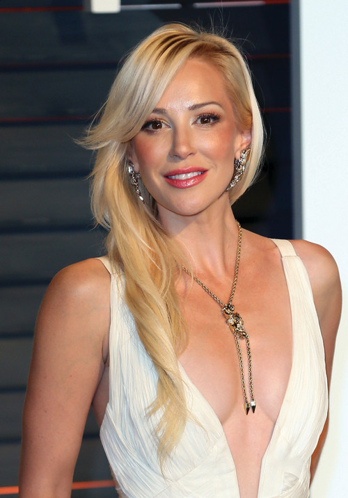 Stunning Scottish actress Louise Linton is also a movie producer. (Photo: David Livingston via Getty Images)