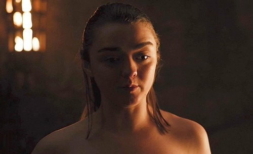 Arya is about to do it