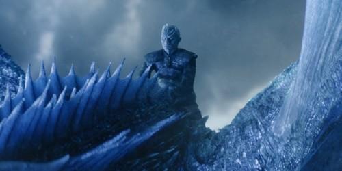 Night King and his Ice Dragon