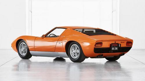The Italian Job Lamborghini Miura (1)