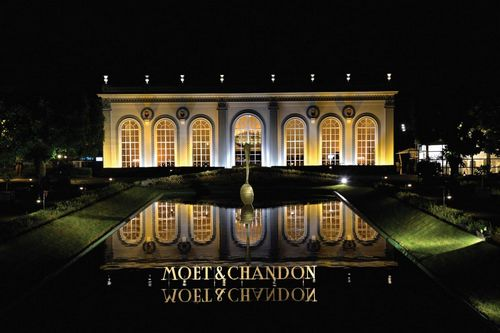 L'Orangerie at Moet & Chandon at night 2