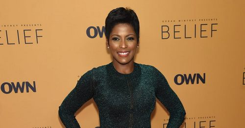 Tamron Hall Took a Mom-Shamer Head On About Going Back to Work