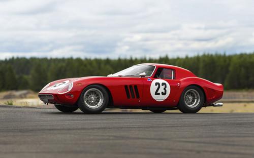 An actual Ferrari GTO