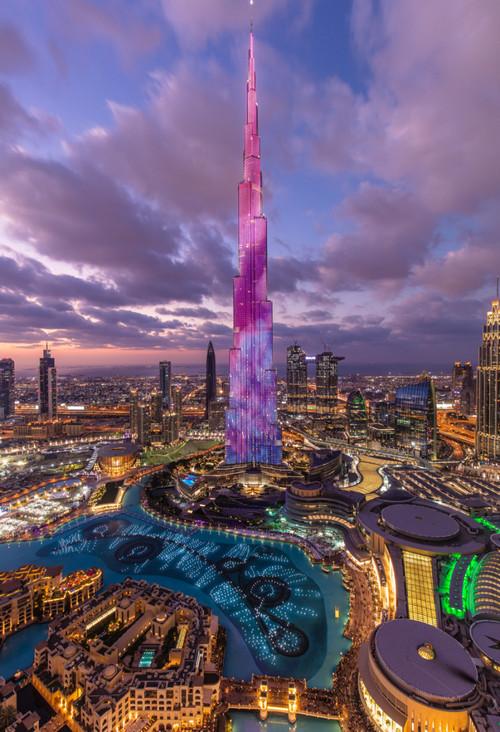 Burj Khalifa from Address 2
