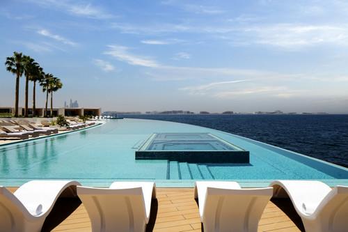 The salt water infinity pool
