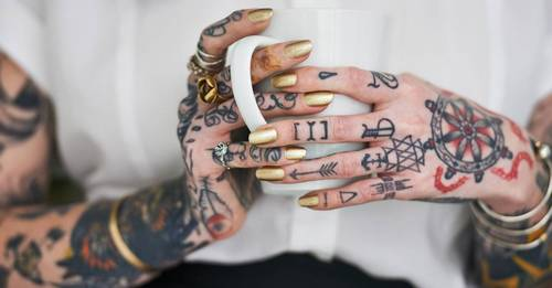 Metal particles from coloured tattoos could be leaking toxins into your lymph nodes