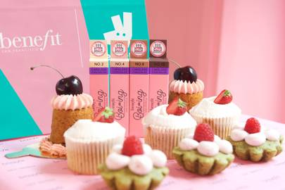 You can try Benefit's new Boi-ing concealer first by ordering cake