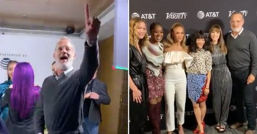 Tom Hanks Ran Into the Hustlers Cast, and a Whole Lot of Fangirling Ensued