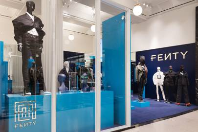 A Fenty fashion pop-up has just opened for the first time in the UK