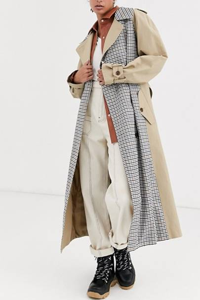 This is ASOS' best-selling trench coat of the year