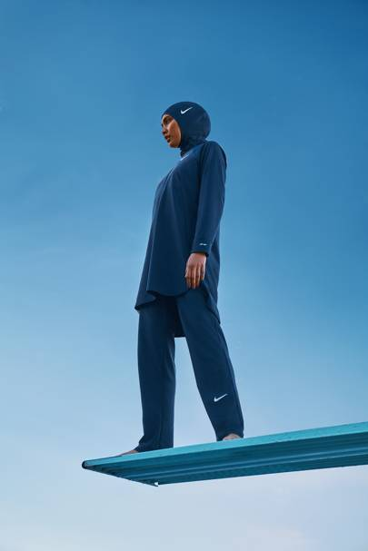 Nike has just launched a modest dressing swimwear collection