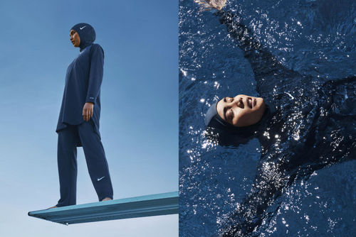 Nike Introduces Inclusive New Swim Collection That Includes A Hijab