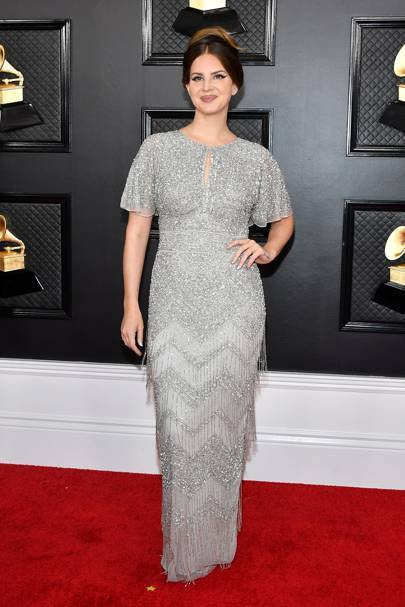 Lana Del Rey purchased her Grammy's dress from an actual mall
