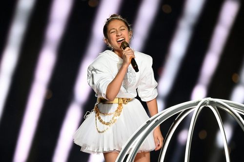 Sweetest Response to Daughter Emme's Performance With Jennifer Lopez