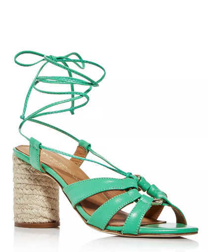 colorful strappy sandals
