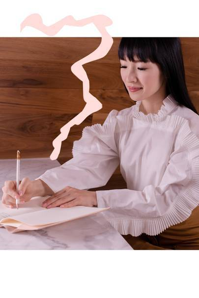 Marie Kondo shares her foolproof guide to sparking joy whilst working from home