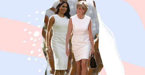 Meghan Markle took style inspiration from her late mother-in-law, Princess Diana