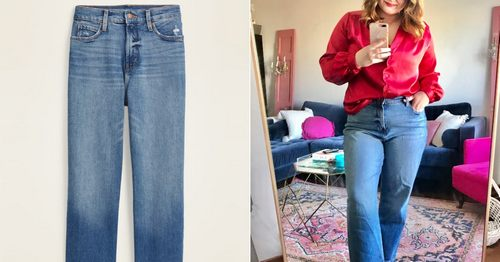 I Tried Old Navy's Bestselling High-Waisted Jeans
