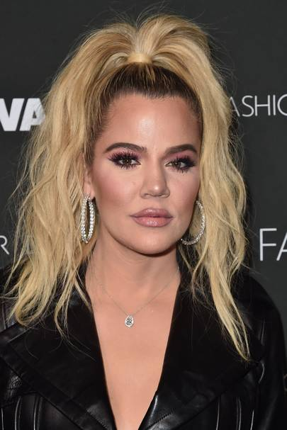 Khloe Kardashian into admitting they've had surgery as if it's a criminal act?