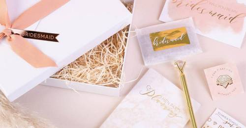 25 beautiful bridesmaid proposal gifts to ask 'Will You Be My Bridesmaid?!' in style