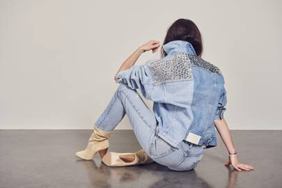 Fashion's eco denim brand just collaborated with Swarovski